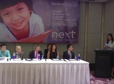 Tổ chức Phẫu thuật nụ cười chung tay cùng Microsoft giúp đỡ trẻ em không may mắn tại Việt Nam!