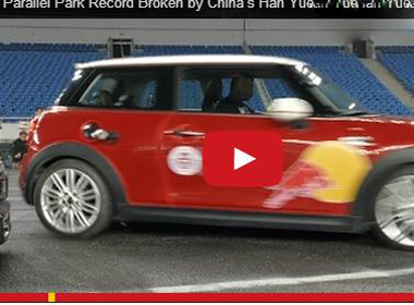 Video cú đỗ xe cực chuẩn phá vỡ kỷ lục Guinness