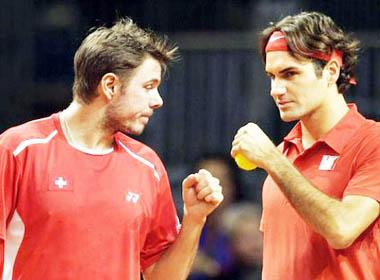 Roger Federer làm lành với Wawrinka: Vì tình bạn, vì Davis Cup
