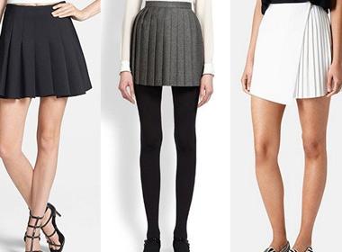 Chọn chân váy xếp ly hoàn hảo cho nàng cá tính