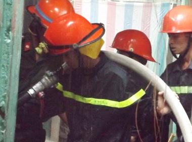 Cháy nhà ở trung tâm TP Cần Thơ