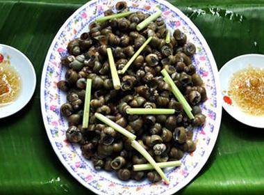 Ngon lạ lùng ốc gạo Phú Đa
