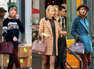 Soi Taylor Swift 'diện mãi' một chiếc túi