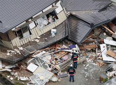 Động đất tại Nhật và Trung Quốc, 39 người bị thương