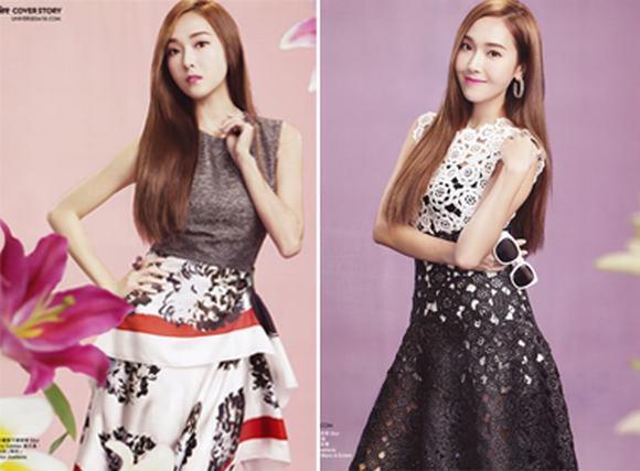 Jessica khoe nhan sắc nữ thần trên tạp chí sau khi rời nhóm SNSD