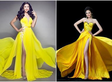 Trang phục Á hậu Nguyễn Thị Loan tại Miss World 2014 bị tố 'đạo ý tưởng'