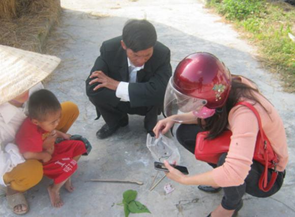 Xuất hiện loài trùng lạ ở Nghệ An