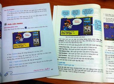 Nội dung sách giáo khoa: Lạc hậu và lặp lại