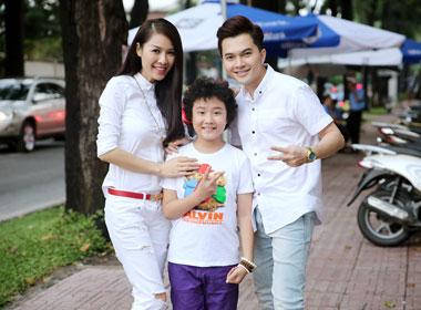 Vợ chồng chí phèo Nam Cường, Quế Vân 'sáp nhập' Hoàng Anh The Voice Kids