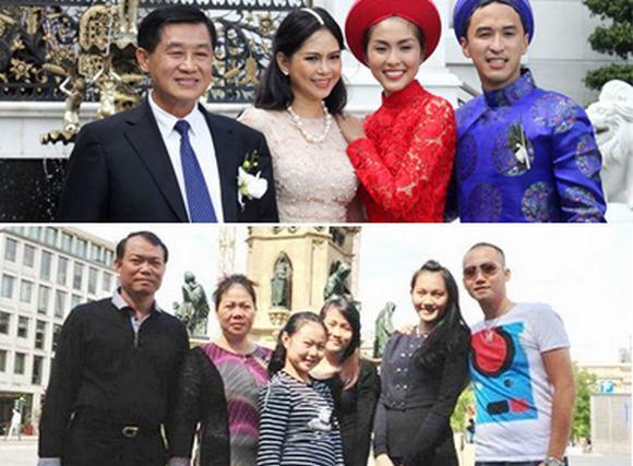Sao Việt có bố mẹ chồng thuộc top 50 người giàu nhất Việt Nam