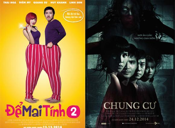 Hai phim Việt Nam được chờ đợi nhất tháng 12 cùng tung poster mới