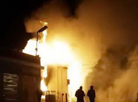Tòa nhà nửa triệu đô của người Việt bị đốt ở Ferguson