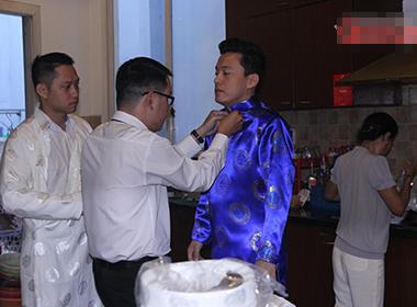 Trực tiếp: Lam Trường tất bật chuẩn bị đi rước dâu