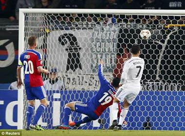 Basel – Real: Ronaldo tiến vào lịch sử