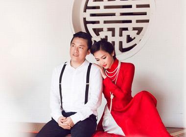 Ảnh cưới mang không khí hoài cổ ở Hội An của Lam Trường