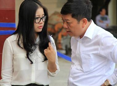 Vợ bầu Kiên có mặt sớm ở phiên xử phúc thẩm