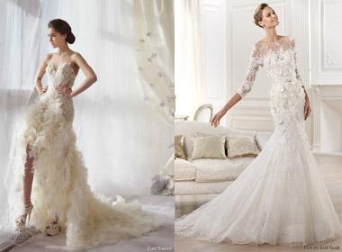 Mẫu váy cưới đẹp hợp với 12 cung hoàng đạo