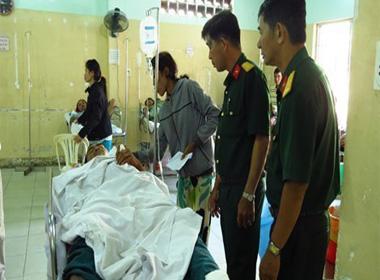 CSGT tông chết 2 dân phòng, 5 người khác trọng thương