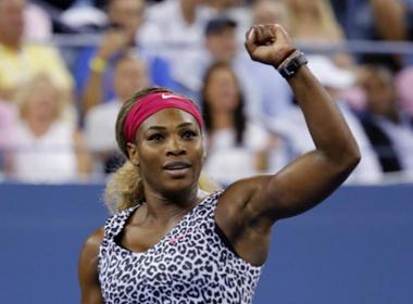 Serena muốn mạnh mẽ và mạnh mẽ hơn