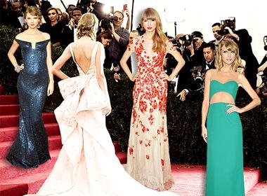 Soi gu thời trang thảm đỏ của Taylor Swift ngày ấy - bây giờ