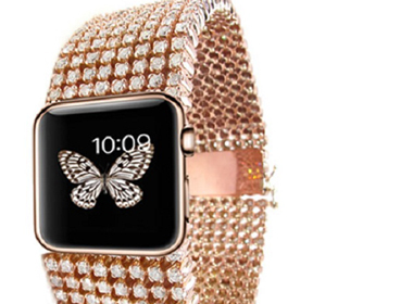Apple Watch dát vàng và kim cương có giá hơn 30.000 USD