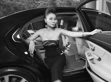 Thu Minh và chiếc xe biểu tượng quyền lực