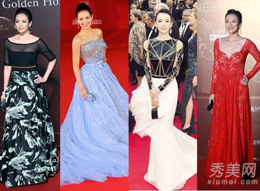 Chương Tử Di và những bộ váy trên thảm đỏ LHP đẹp nhất
