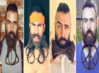 Chàng râu khủng tiếp tục tung bộ sưu tập quái đản hơn trước