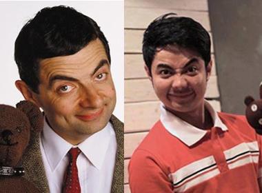 Bất ngờ với chàng trai Việt có ngoại hình giống Mr Bean