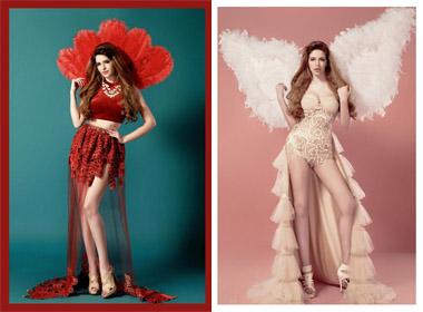 Andrea Aybar hóa thành thiên thần Vitoria Secret chào đón giáng sinh