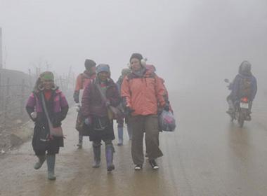 Không khí lạnh tràn về, Hà Nội xuống thấp nhất 9 độ C