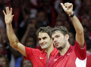 Sắp có thư hùng Federer-Wawrinka