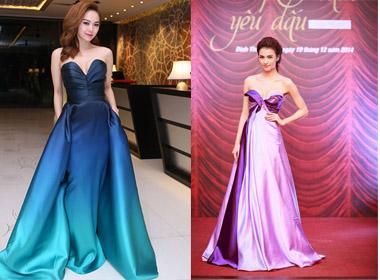 Sao Việt xúng xính khoe sắc với trang phục dạ hội trong tuần qua