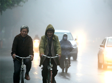 Dự báo thời tiết 23/12: Nhiệt độ miền bắc tiếp tục giảm, trời rét đậm