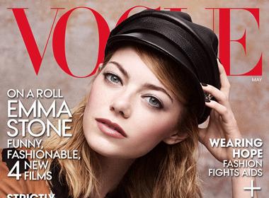 Emma Stone, 'cô nàng ngổ ngáo' của Hollywood cuốn hút trên bìa tạp chí Vogue