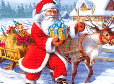 Tin vịt: Đã tìm ra lý do ông già Noel không sợ chó