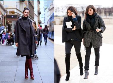 'Mặc đẹp không khó' với 3 dáng boots cao cổ cơ bản