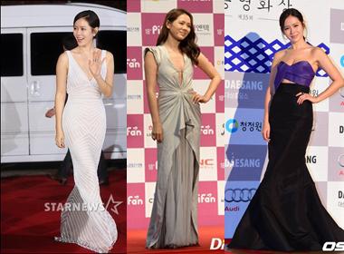 Điểm danh những bộ trang phục trên thảm đỏ hút hồn của Son Ye Jin