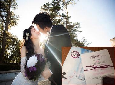 Lộ diện thiệp cưới giản dị của Lê Khánh và Tuấn Khải