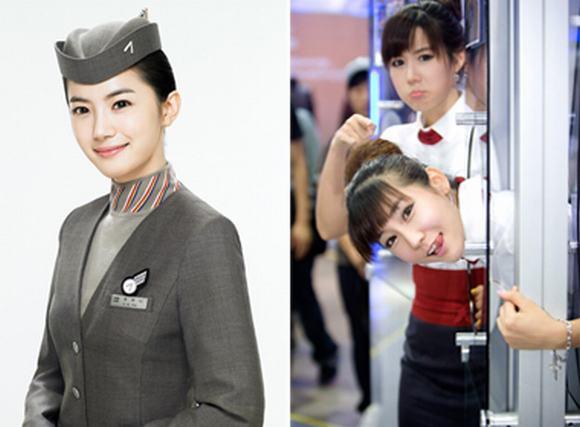 Những trang phục tiếp viên hàng không đẹp nhất xứ Hàn