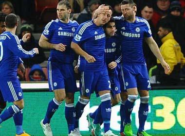 Đả bại Stoke, Chelsea lại hơn M.C 3 điểm