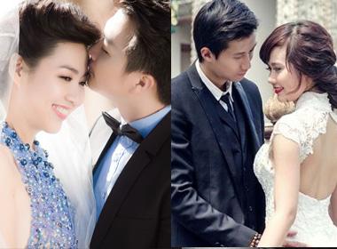 So ảnh cưới đẹp lung linh của sao Việt cuối năm 2014