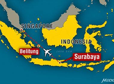 Đã xác định được tọa độ máy bay AirAsia rơi?
