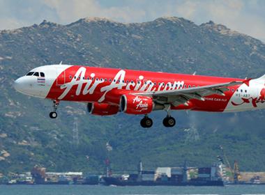 Thêm một máy bay của AirAsia gặp trục trặc phải quay lại sân bay
