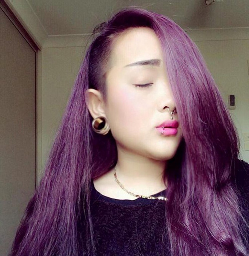 """Những kiểu tóc """"không giống ai"""" của giới trẻ Việt - 9"""