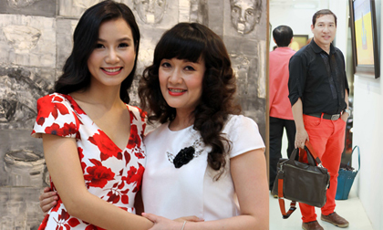 Vân Dung - Quang Thắng rạng rỡ chia vui cùng diễn viên Lương Giang