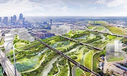 Dallas đang xây dựng công viên đô thị thiên nhiên lớn nhất nước Mỹ