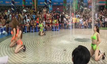 Mặc bikini nhảy phản cảm: Công viên nước Đầm Sen bị phạt 45 triệu đồng