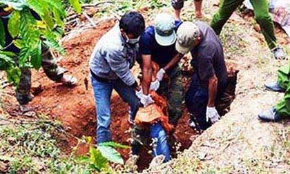 Giết người, chôn xác trong vườn cà phê vì không có tiền trả nợ