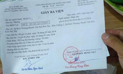 Công an vào cuộc vụ nhiều người bỗng dưng bị nhiễm HIV ở Phú Thọ